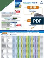 Lignes 816 Et 816 Euskadi Express Bayonne Hendaye Et Bayonne Irun Hendaye Web 1.09.2016
