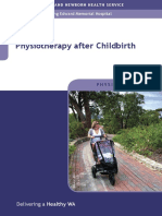 Physiotherapy After Child Birth
