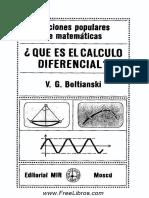 Qué Es El Cálculo Diferencial
