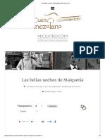 Las Bellas Noches de Maiquetía _ MiCuatro