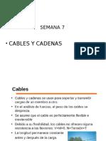 Semana 07-Cables y Cadenas