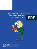 Brochure Informativo - Área Seguridad Alimentaria - Nacional