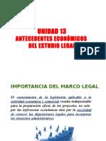 Unidad 13 - Antecedentes Económicos Del Estudio Legal