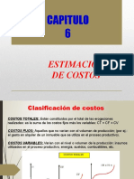 Unidad 6 - Estimacion de Costos