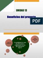 Unidad 15 - Beneficios Del Proyecto