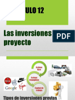 Unidad 14 - Las Inversiones Del Proyecto