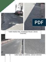 Reporte Fotografico de Pavimentos