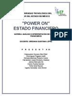 Proyecto Estados Financieros