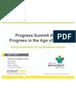 Broadbent Summit Survey Final Pres 05 Apr 2017