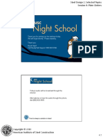 Night School 10 Session 4