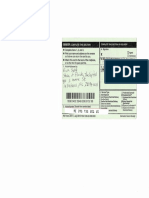 Manning El Statutory Declaration With Green Return Receipt