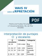 P4 WAIS IV Interpretación