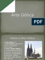 Arte Gótica (Arquitetura)