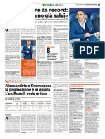 La Gazzetta dello Sport 07-04-2017 - Intervista a Roselli