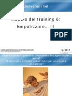 Modulo 6 a. (Empatizzare II) ITALIANO COMPLETO
