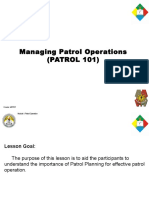 Patrol 101