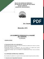 Clases Obligaciones II Unidad i Tema 6 Capacidad