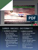 Proteksi radiasi eksternal