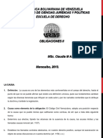 Clases Obligaciones II Unidad i Tema 5 La Causa Del Contrato