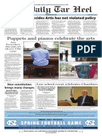 The Daily Tar Heel for April 7, 2017