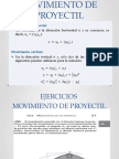 Movimiento Proyectil