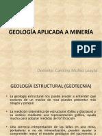 Geología Aplicada a Minería