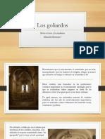 Unidad 5 Los Goliardos - Manuela Montoya