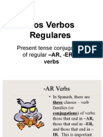 Los Verbos Regulares en Presente