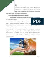 Actions Citoyennes Et l'Écologie