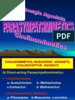 2- PARASYMPATHOMIMETICS