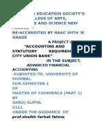 Saroj Financial Accounting