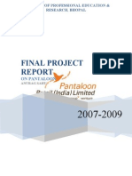 A Project Report on Pantaloon