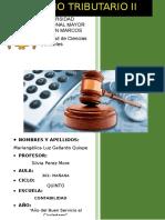Trabajo de Derecho Tributario II