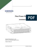 Installaton Manual FPRA