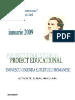 proiect eminescu