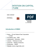 Presentation on Capital Structurey