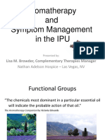 4A Aromatherapy and Symptom Mgt in the IPU