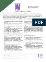 national statistics domestic violence ncadv