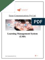 Enser Communications Pvt Ltd LMS