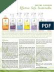 Green Irene Enzyme Cleaner Brochure