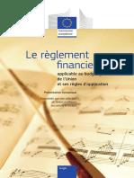 Le règlement financier de l'Union Européenne