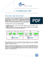 DRM the Digital Future of FM P