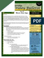 MS Parent Bulletin (Week of April 10 to 14)