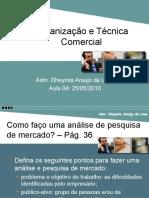 Aula 04 de 07 - Organização e Técnica Comercial (25-05-10)