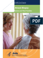 Breast Biopsy Consumer Guide