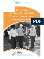 Osteoporosis Consumer Guide