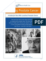 Prostate Cancer Consumer Guide