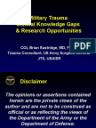 2. Military Trauma Research Gaps Final