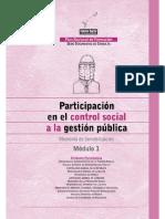 Participación en El Control Social 3