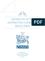 Distribution Channel of Nestle-India